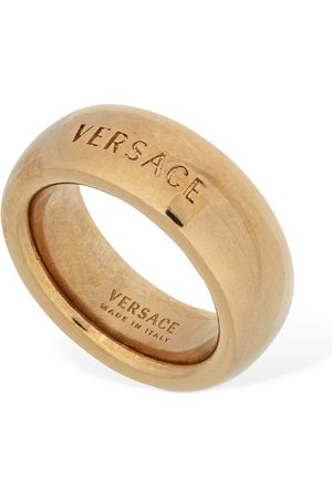 VERSACE Women Rings - Logo Thick Ring
