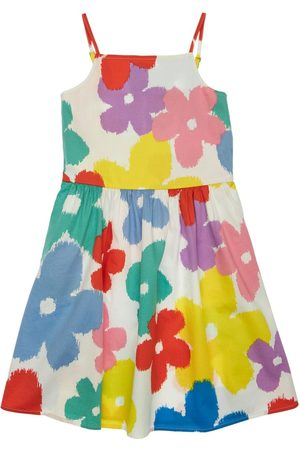 Stella McCartney Flower Print Organic Cotton Dress
