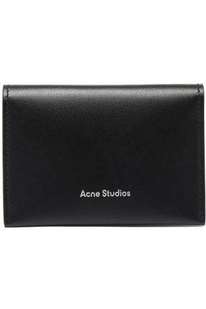 Acne Studios Logo-debossed Bi-fold Leather Cardholder - Womens