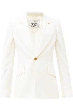 Vivienne Westwood Women Blazers - Lou Lou Virgin-wool Cady Jacket - Womens