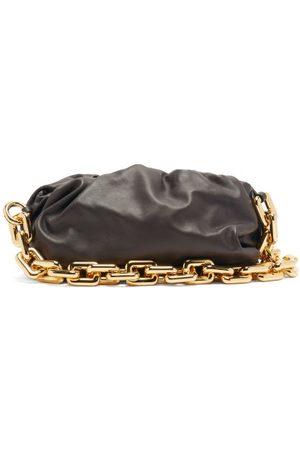 Bottega Veneta The Chain Pouch Leather Clutch Bag - Womens