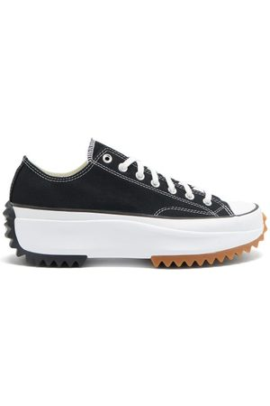 Converse Run Star Hike Canvas Platform Trainers - Mens