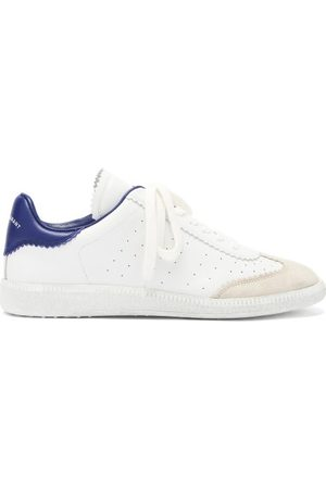 Isabel Marant Bryce Leather And Suede Trainers - Womens