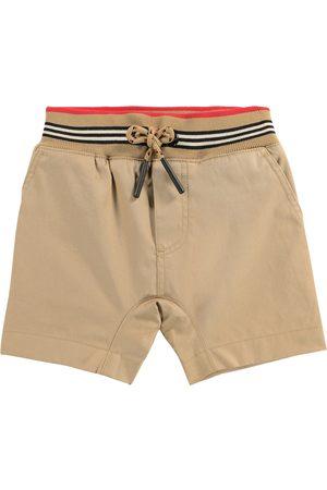 Burberry Baby Icon Stripe cotton twill shorts