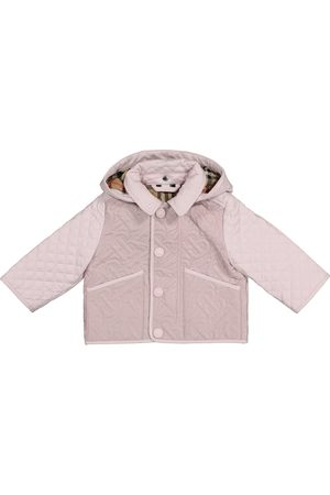Burberry Baby Monogram quilted jacket
