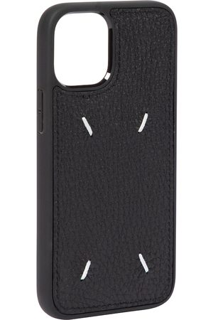 Maison Margiela Women Phones Cases - Leather iPhone 12 Mini case