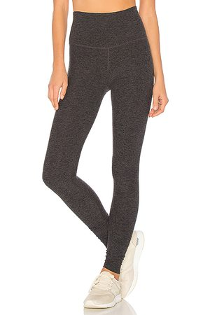 Beyond Yoga Take Me Higher Long Legging in Grey.