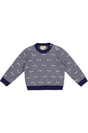 Gucci Baby GG jacquard wool sweater