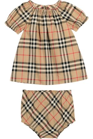 Burberry Baby Vintage Check cotton dress and bloomers set