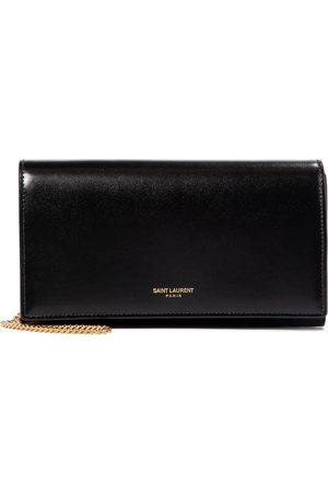 Saint Laurent Leather wallet clutch