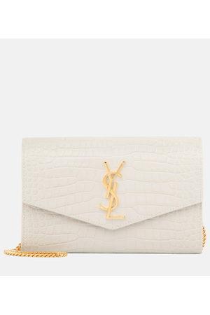 Saint Laurent Uptown leather wallet clutch