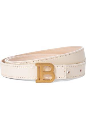 Balmain Exclusive to Mytheresa – B-Belt leather belt