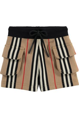 Burberry Baby Icon Stripe cotton jersey shorts