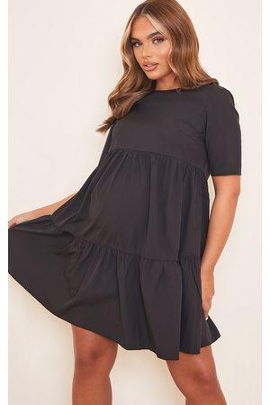 PRETTYLITTLETHING Maternity Ruffle Mini Dress