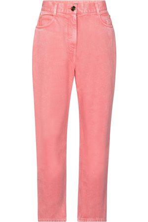 Balmain High-rise straight jeans
