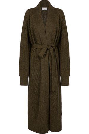 Frankie Shop Ribbed-knit wool-blend cardigan