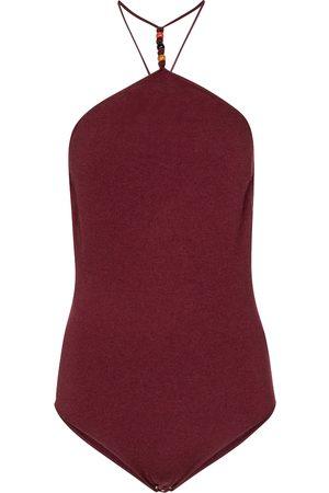 Bottega Veneta Halterneck cashmere-blend bodysuit