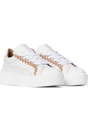 Chloé Sevy leather sneakers