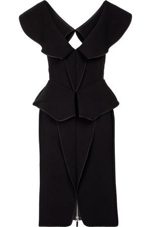 MATICEVSKI Consecration V-neck minidress