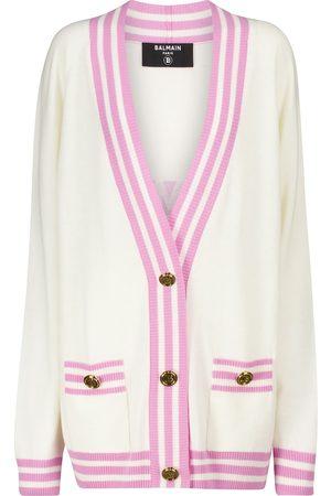 Balmain Wool and cashmere-blend cardigan