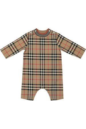 Burberry Baby Vintage Check cotton onesie
