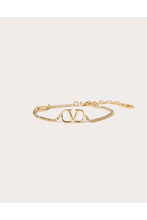 VALENTINO GARAVANI Women Bracelets - Vlogo Signature Metal Bracelet Women Brass 100% OneSize