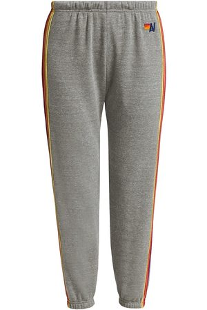 AVIATOR NATION Women Sweatpants - Women's Velvet Stripe Joggers - - Size XS