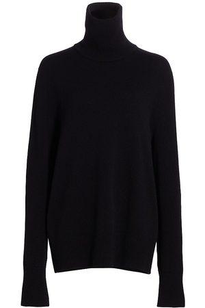 The Row Women High Necks - Women's Stepny Wool & Cashmere Turtleneck Top - - Size Large
