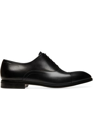 Bally Men's Lancy Lizzar Leather Oxford Loafers - - Size 13