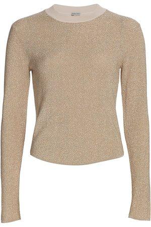 RACHEL COMEY Women's Phil Metallic Knit Top - - Size Large
