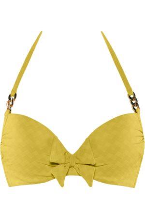 Marlies Dekkers Sunglow push up bikini top | wired padded royal - 32C