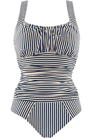 Marlies Dekkers Holi vintage unwired padded bathing suit | unwired padded -ecru - XXXL