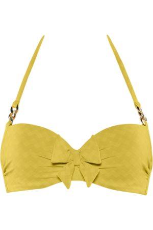 Marlies Dekkers Sunglow plunge balcony bikini top | wired padded royal - 32C