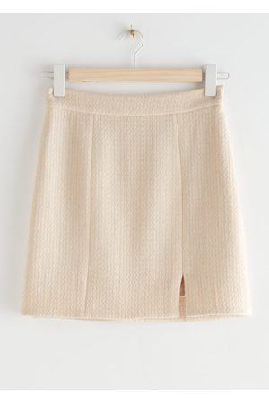 & OTHER STORIES Wool Blend Mini Skirt