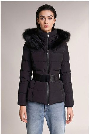 Salsa Puffer With Branded Belt S