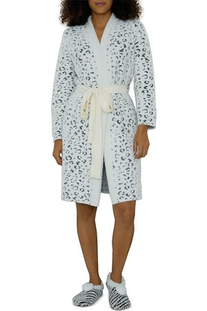 Cejoli Snow Cheetah Robe