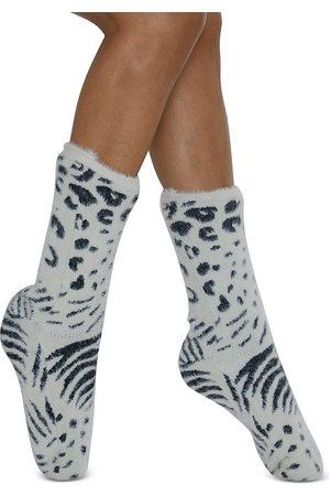 Cejoli Jungle Cover Faux Fur Slipper Socks