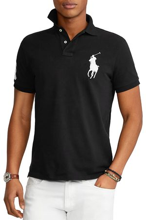 Polo Ralph Lauren Big Pony Custom Slim Fit Mesh Polo Shirt