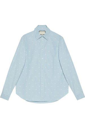 Gucci Fil coupé button-front shirt