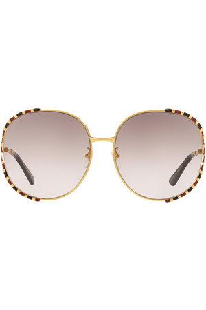 Gucci GG0595S round-frame sunglasses