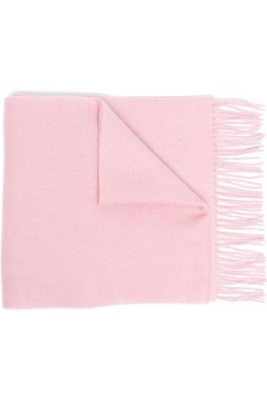 MULBERRY Men Scarves - Embroidered logo scarf