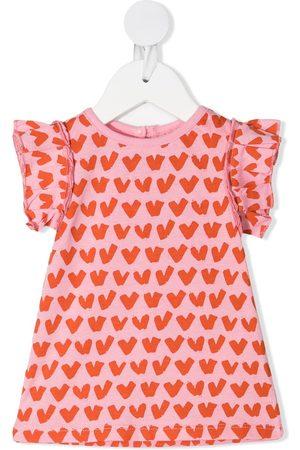 Stella McCartney Tops - Heart-print cotton top