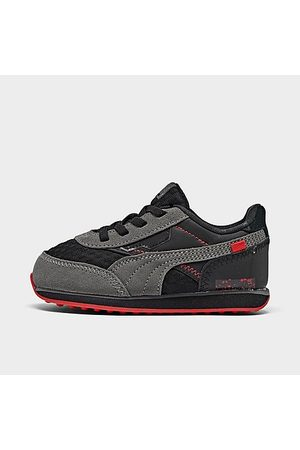 PUMA Kids' Toddler Future Rider Unity Casual Shoes in Size 4.0 Suede