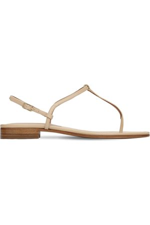 EMME PARSONS 10mm Cecilia Leather Thong Sandals