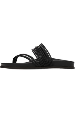 EMME PARSONS 10mm Roma Leather Thong Sandals