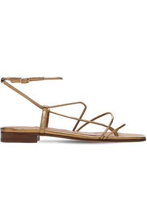 EMME PARSONS Women Sandals - 10mm Diana Metallic Leather Thong Sandal