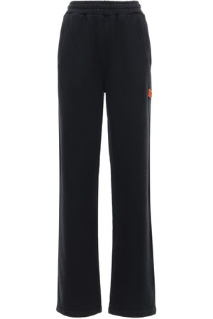 Heron Preston Straight Leg Cotton Sweatpants