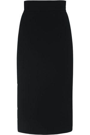 Max Mara Nylon Stretch Pencil Midi Skirt
