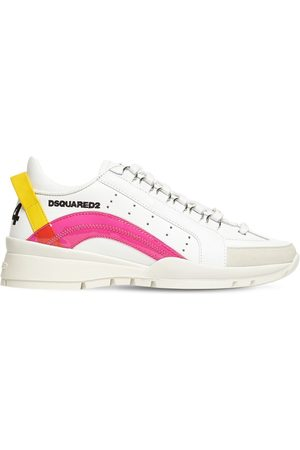 Dsquared2 30mm 551 Leather & Pvc Sneakers
