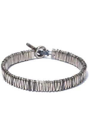 M. COHEN The Large Zig Diamond & Sterling- Bracelet - Mens
